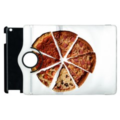 Food Fast Pizza Fast Food Apple iPad 2 Flip 360 Case