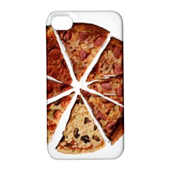 Food Fast Pizza Fast Food Apple Iphone 4/4s Hardshell Case With Stand