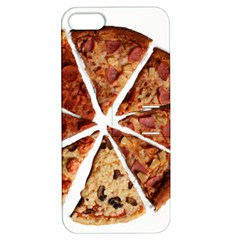 Food Fast Pizza Fast Food Apple Iphone 5 Hardshell Case With Stand
