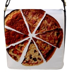 Food Fast Pizza Fast Food Flap Messenger Bag (s)