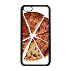 Food Fast Pizza Fast Food Apple Iphone 5c Seamless Case (black)