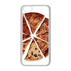 Food Fast Pizza Fast Food Apple Iphone 5c Seamless Case (white)