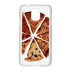 Food Fast Pizza Fast Food Samsung Galaxy S5 Case (white)
