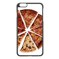 Food Fast Pizza Fast Food Apple Iphone 6 Plus/6s Plus Black Enamel Case