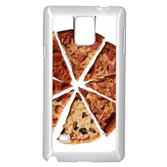 Food Fast Pizza Fast Food Samsung Galaxy Note 4 Case (white)