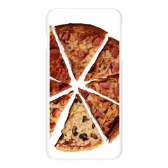 Food Fast Pizza Fast Food Apple Seamless iPhone 6 Plus/6S Plus Case (Transparent)