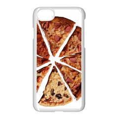 Food Fast Pizza Fast Food Apple iPhone 7 Seamless Case (White)