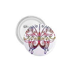 Butterfly Nature Abstract Beautiful 1 75  Buttons