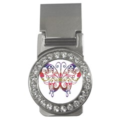 Butterfly Nature Abstract Beautiful Money Clips (CZ)