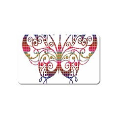 Butterfly Nature Abstract Beautiful Magnet (name Card)