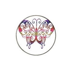 Butterfly Nature Abstract Beautiful Hat Clip Ball Marker