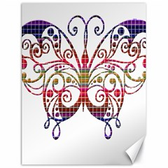 Butterfly Nature Abstract Beautiful Canvas 18  X 24
