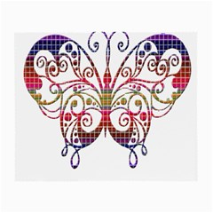 Butterfly Nature Abstract Beautiful Small Glasses Cloth (2 Side)