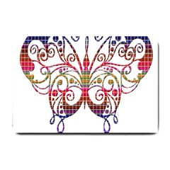 Butterfly Nature Abstract Beautiful Small Doormat
