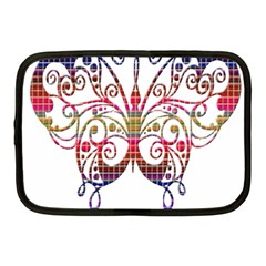 Butterfly Nature Abstract Beautiful Netbook Case (medium)