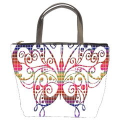 Butterfly Nature Abstract Beautiful Bucket Bags