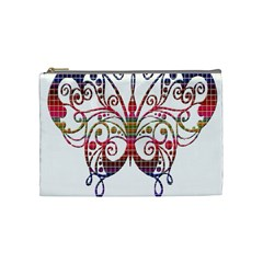 Butterfly Nature Abstract Beautiful Cosmetic Bag (medium)