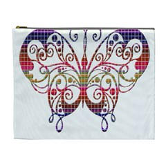 Butterfly Nature Abstract Beautiful Cosmetic Bag (XL)