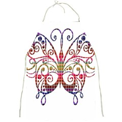 Butterfly Nature Abstract Beautiful Full Print Aprons