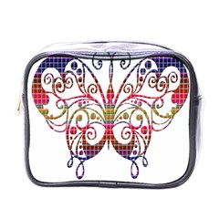 Butterfly Nature Abstract Beautiful Mini Toiletries Bags