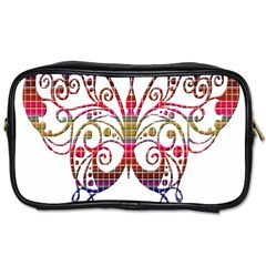 Butterfly Nature Abstract Beautiful Toiletries Bags 2 Side
