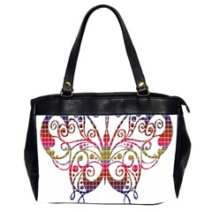 Butterfly Nature Abstract Beautiful Office Handbags (2 Sides)