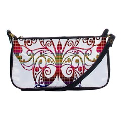 Butterfly Nature Abstract Beautiful Shoulder Clutch Bags