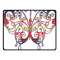 Butterfly Nature Abstract Beautiful Fleece Blanket (small)