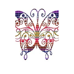 Butterfly Nature Abstract Beautiful Shower Curtain 48  x 72  (Small)