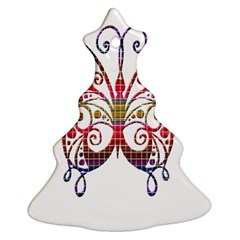 Butterfly Nature Abstract Beautiful Ornament (Christmas Tree)