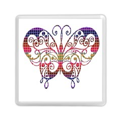 Butterfly Nature Abstract Beautiful Memory Card Reader (Square)