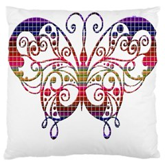 Butterfly Nature Abstract Beautiful Large Cushion Case (One Side)