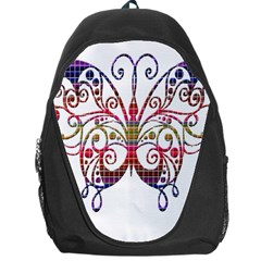 Butterfly Nature Abstract Beautiful Backpack Bag