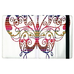 Butterfly Nature Abstract Beautiful Apple Ipad 3/4 Flip Case