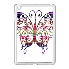 Butterfly Nature Abstract Beautiful Apple Ipad Mini Case (white)