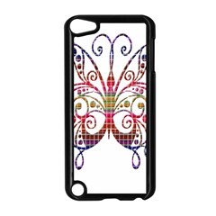 Butterfly Nature Abstract Beautiful Apple iPod Touch 5 Case (Black)