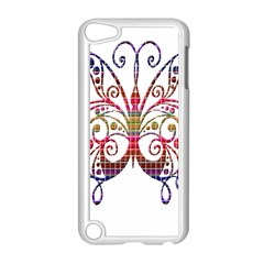 Butterfly Nature Abstract Beautiful Apple Ipod Touch 5 Case (white)