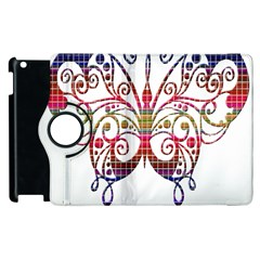 Butterfly Nature Abstract Beautiful Apple Ipad 3/4 Flip 360 Case