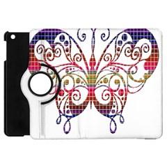 Butterfly Nature Abstract Beautiful Apple iPad Mini Flip 360 Case