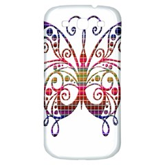 Butterfly Nature Abstract Beautiful Samsung Galaxy S3 S III Classic Hardshell Back Case