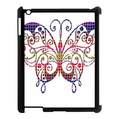 Butterfly Nature Abstract Beautiful Apple Ipad 3/4 Case (black)