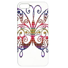 Butterfly Nature Abstract Beautiful Apple Iphone 5 Hardshell Case With Stand