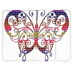 Butterfly Nature Abstract Beautiful Samsung Galaxy Tab 7  P1000 Flip Case