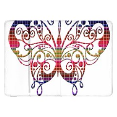 Butterfly Nature Abstract Beautiful Samsung Galaxy Tab 8.9  P7300 Flip Case