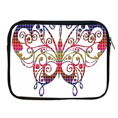 Butterfly Nature Abstract Beautiful Apple Ipad 2/3/4 Zipper Cases