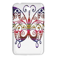 Butterfly Nature Abstract Beautiful Samsung Galaxy Tab 3 (7 ) P3200 Hardshell Case
