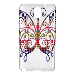 Butterfly Nature Abstract Beautiful Samsung Galaxy Note 3 N9005 Hardshell Case