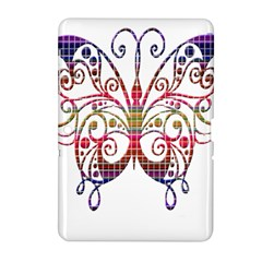 Butterfly Nature Abstract Beautiful Samsung Galaxy Tab 2 (10 1 ) P5100 Hardshell Case