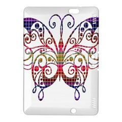 Butterfly Nature Abstract Beautiful Kindle Fire Hdx 8 9  Hardshell Case