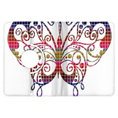 Butterfly Nature Abstract Beautiful Kindle Fire Hdx Flip 360 Case